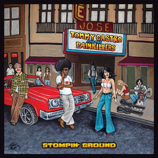 Stompin' Ground - Castro, Tommy & Painkillers - Musik - ALLIGATOR - 0014551497820 - 29/9-2017