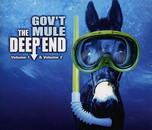 The Deep End Vol 1 & 2 - Govt Mule - Musik - EVANGELINE - 0805772405820 - 11/11-2002