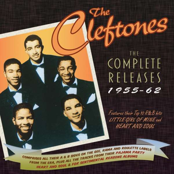 Cleftones Complete Releases 1955-62 - Cleftones - Musik - ACROBAT - 0824046323820 - 9/3-2018