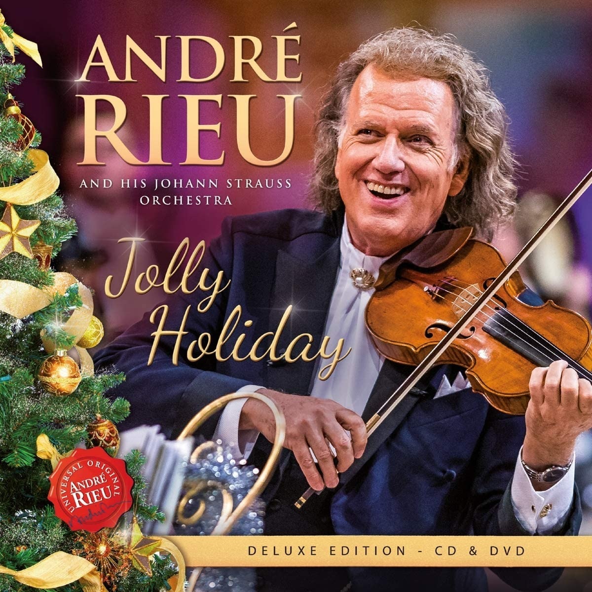 Jolly Holiday - Andre Rieu - Musik - UNIVERSAL - 7444754881820 - 13/11-2020