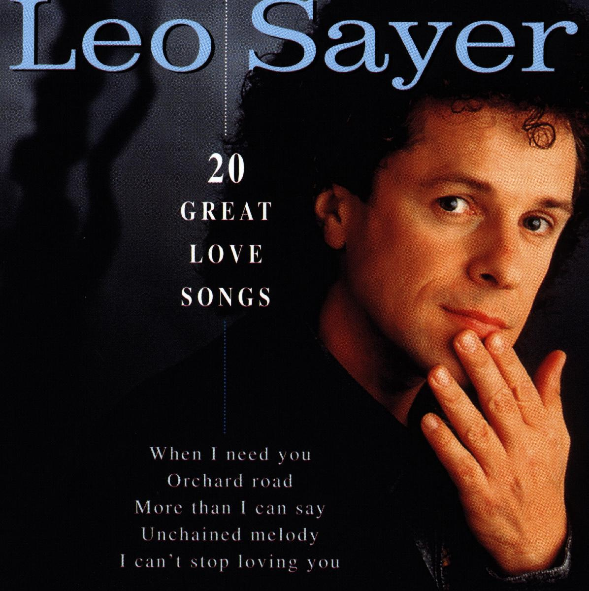 Leo Sayer - 20 Great Love Songs - Sayer Leo - Musik - Disky (Disky) - 0724348705822 - 2/2-1998
