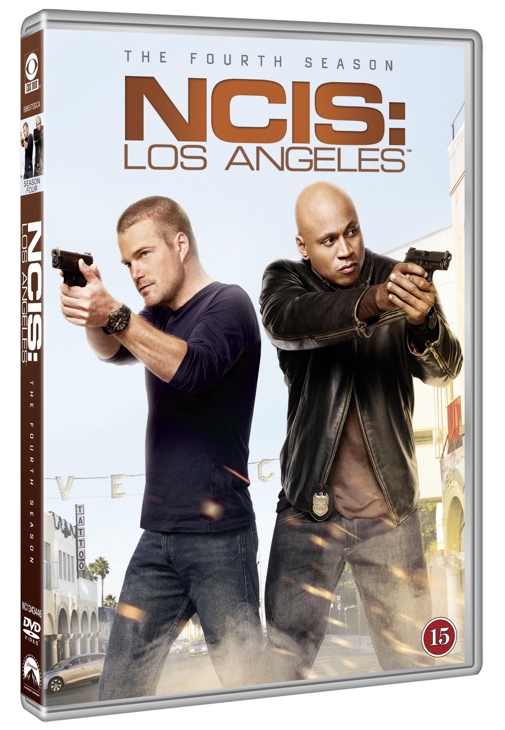 NCIS: Los Angeles - Sæson 4 -  - Film -  - 7332431040823 - 27/3-2014