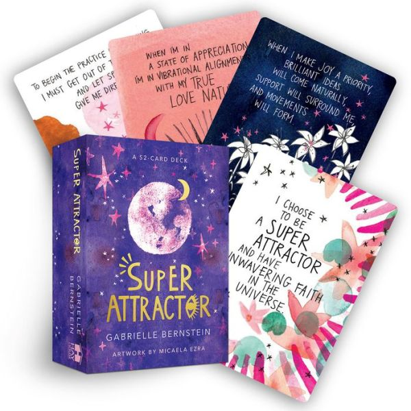 Super Attractor: A 52-Card Deck - Gabrielle Bernstein - Bøger - Hay House Inc - 9781401957827 - 5/11-2019