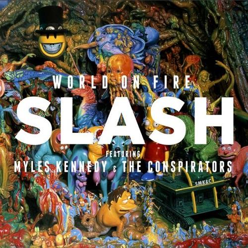 World on Fire - Slash - Musik - WEA - 0016861755829 - 15/9-2014