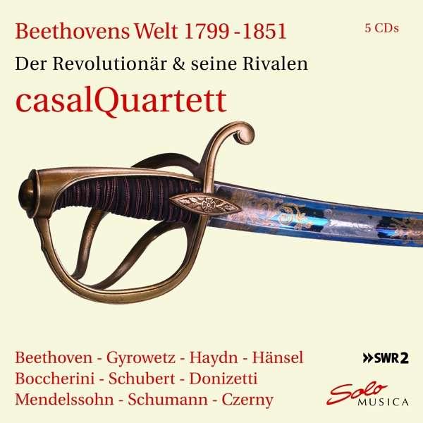 Beethovens Welt / Der Streichquartett Revolutionar - Casal Quartett - Musik - SOLO MUSICA - 4260123642839 - 23/9-2020