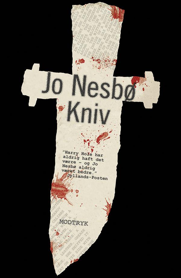 Harry Hole-serien: Kniv - Jo Nesbø - Bøger - Modtryk - 9788770073844 - 26/5-2020