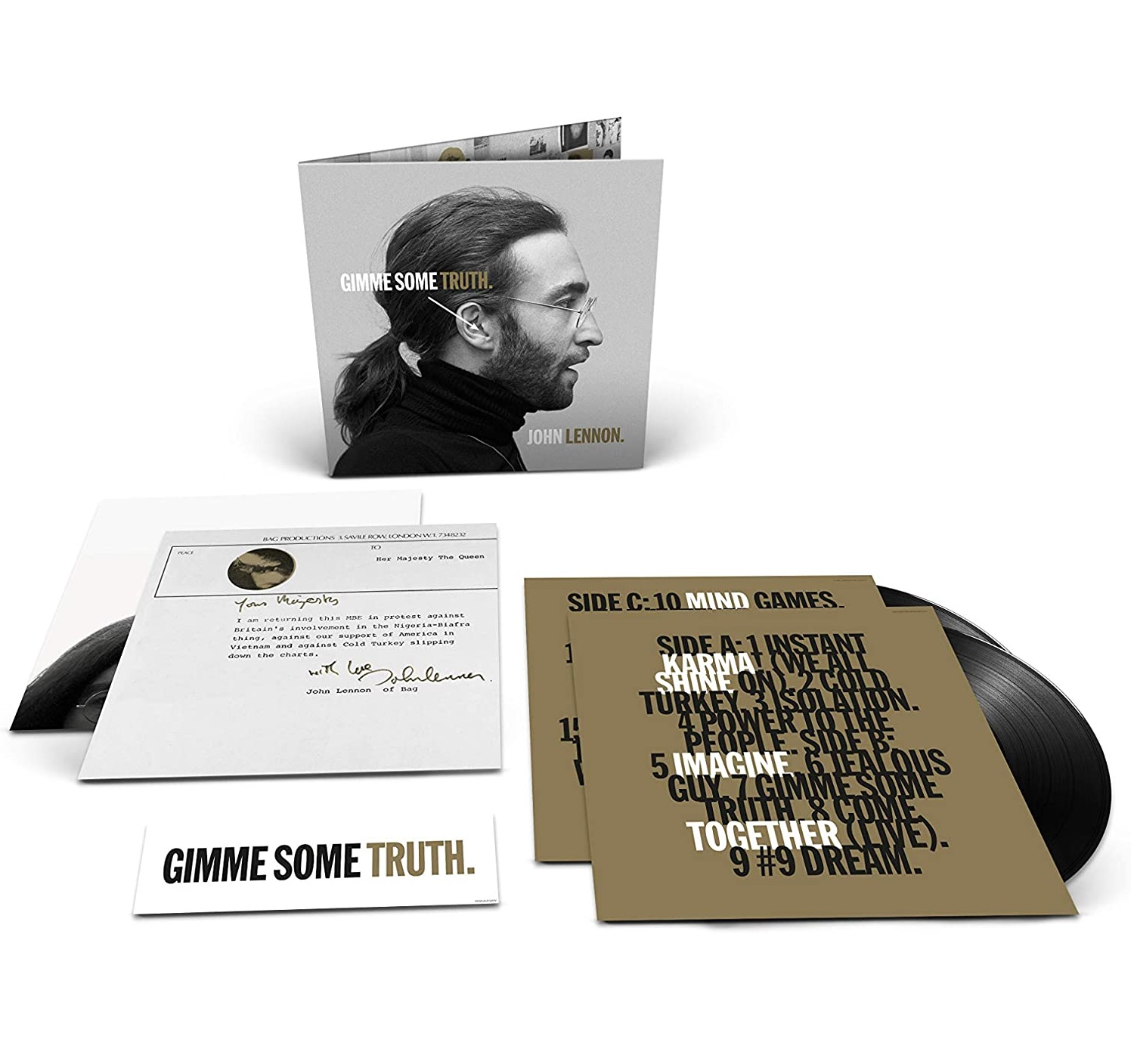 Gimme Some Truth. - John Lennon - Musik -  - 0602435001869 - 9/10-2020