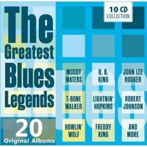 Greatest Blues Legends - V/A - Musik - DOCUMENTS - 4053796002884 - 8/12-2015