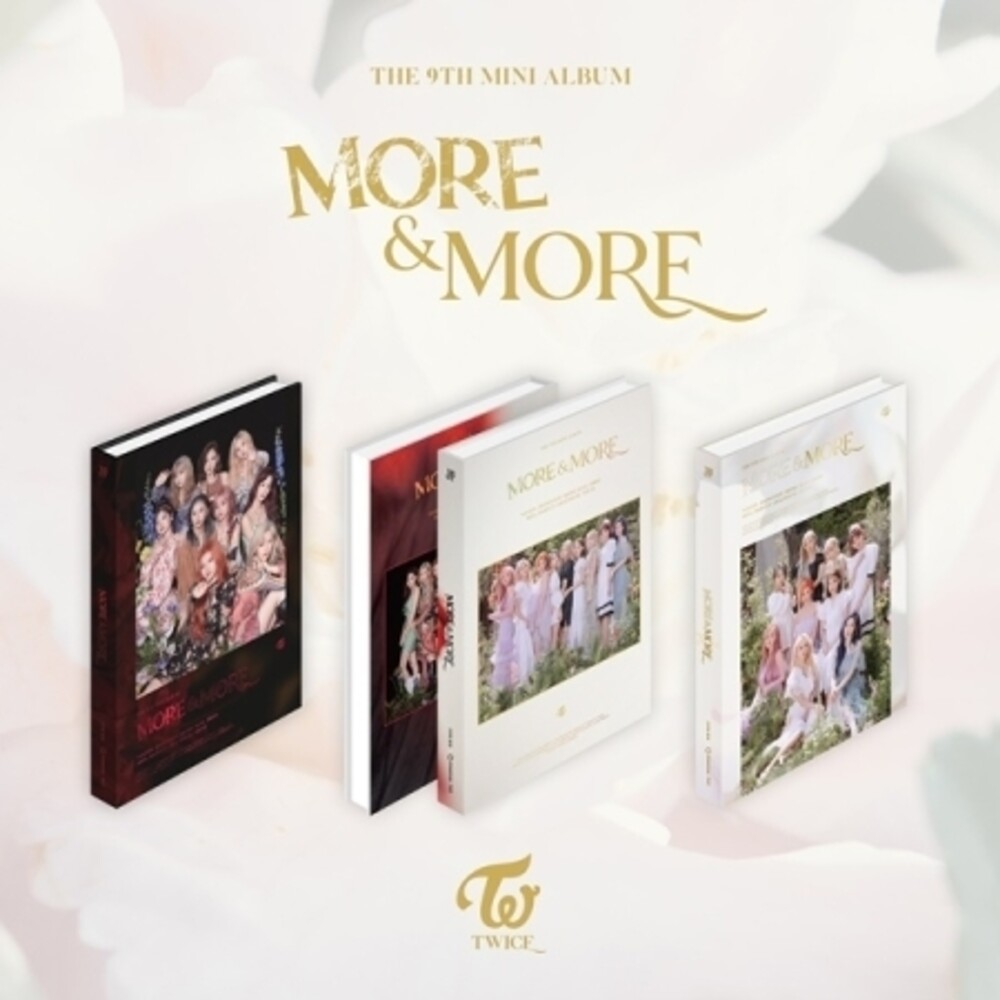 MORE & MORE - TWICE - Musik - JYP ENTERTAINMENT - 8809440339884 - 3/6-2020