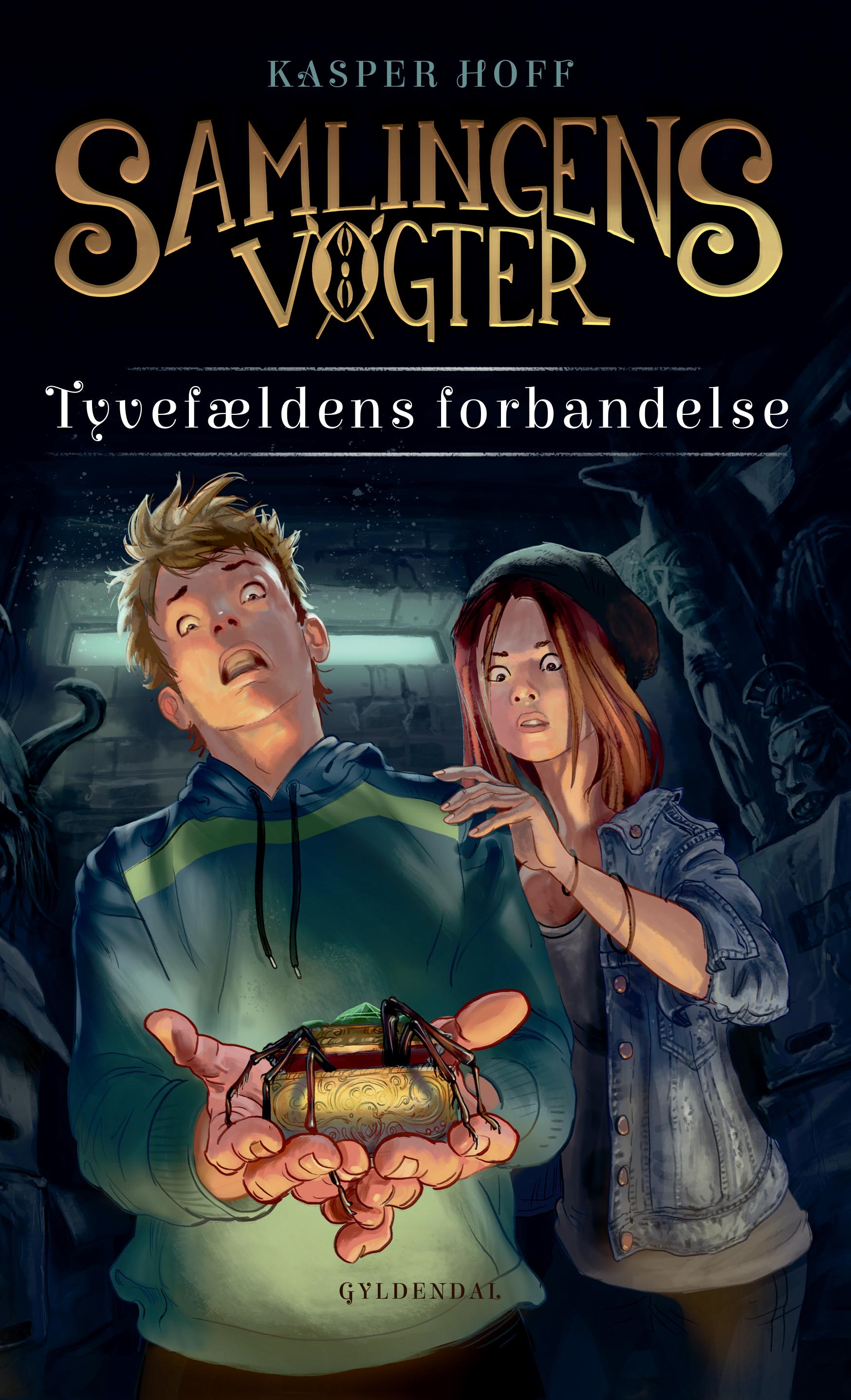 Samlingens Vogter: Samlingens Vogter 1 - Tyvefældens Forbandelse - Kasper Hoff - Bøger - Gyldendal - 9788702279887 - 17/6-2019