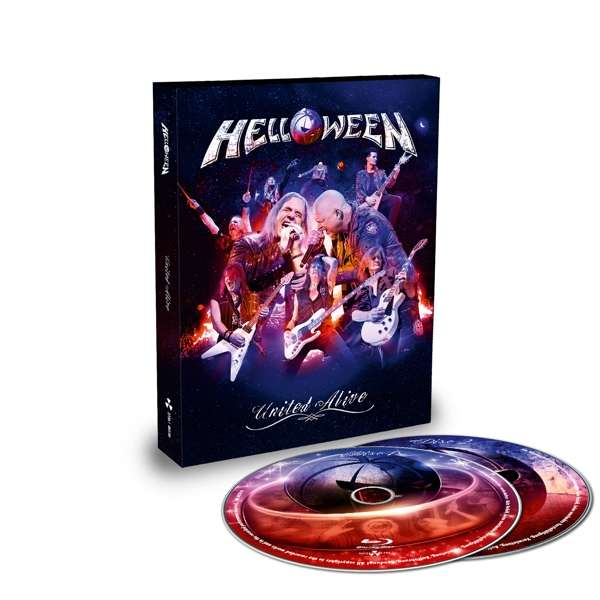 United Alive (2bluray Digibook in Slipcase) - Helloween - Film - NUCLEAR BLAST - 0727361485900 - 4/10-2019