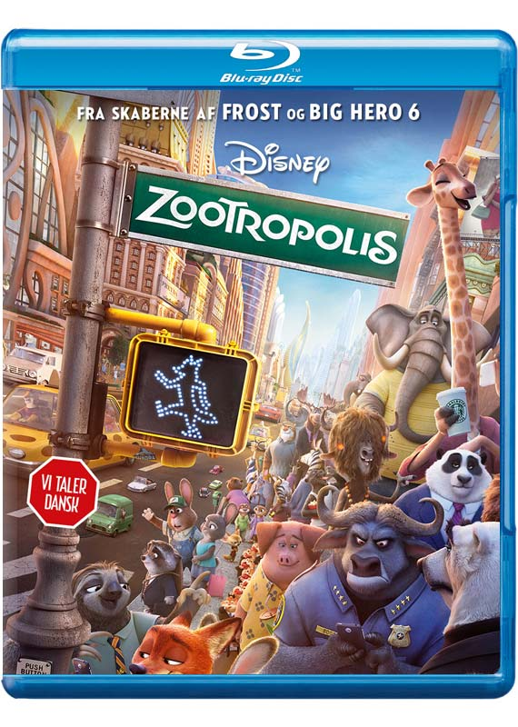 Zootropolis - Disney - Film -  - 8717418475901 - 30/6-2016