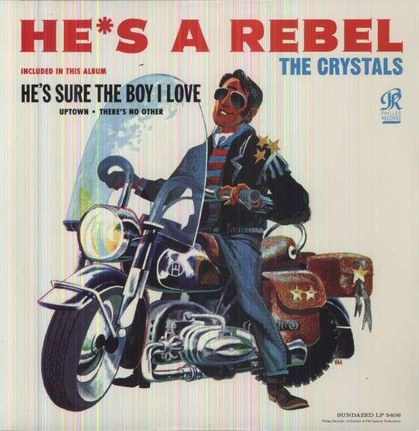 He's a Rebel - Crystals - Musik - SUNDAZED MUSIC INC. - 0090771540911 - 30/6-1990
