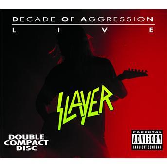 Live: Decade Of Aggression - Slayer - Musik - AMERICAN - 0731458679929 - 12/3-2002