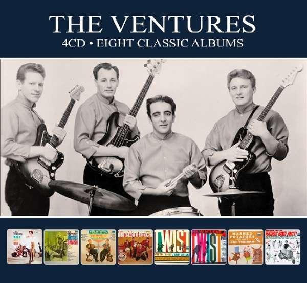 Eight Classic Albums - Ventures - Musik - REEL TO REEL - 5036408204929 - 28/6-2018
