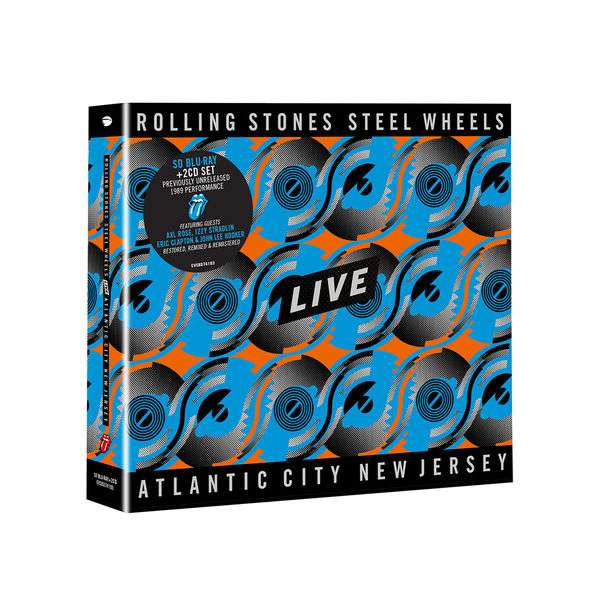 Steel Wheels Live - The Rolling Stones - Musik - UNIVERSAL - 0602508741937 - 25/9-2020