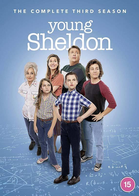 Young Sheldon - Season 3 - TV Series - Film - WARNER HOME VIDEO - 5051892227940 - 4/9-2020
