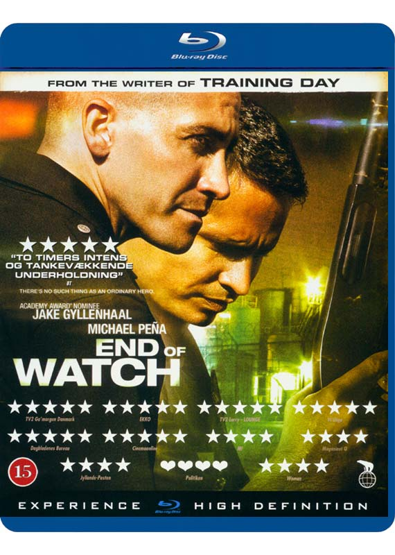 End of Watch -  - Film -  - 5708758724944 - 27/9-2019