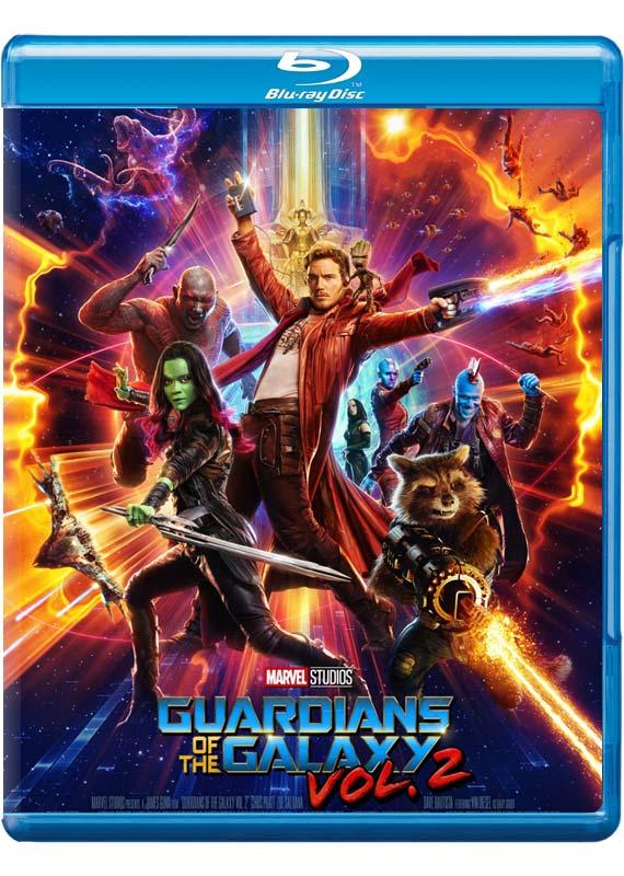 Guardians Of The Galaxy Guardians Of The Galaxy Vol 2 Blu Ray Region B 2017 Imusic Dk