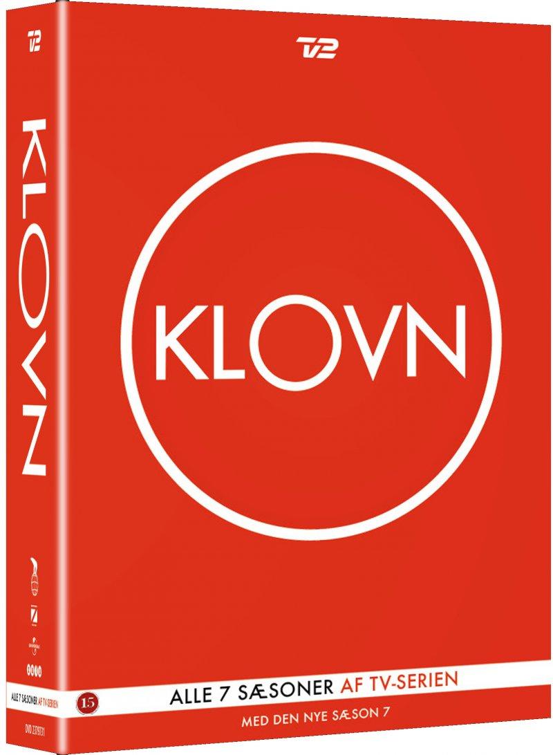 Sæson 1-7 Komplet Boks - Klovn - Film -  - 5708758723954 - 6/12-2018