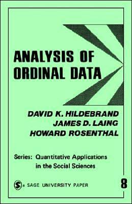 Analysis of Ordinal Data - Quantitative Applications in the Social Sciences - David K. Hildebrand - Bøger - SAGE Publications Inc - 9780803907959 - 1970