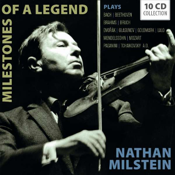 Milestones of a Legend - Nathan Milstein - Musik - MEMBRAN - 4053796004963 - 23/11-2018