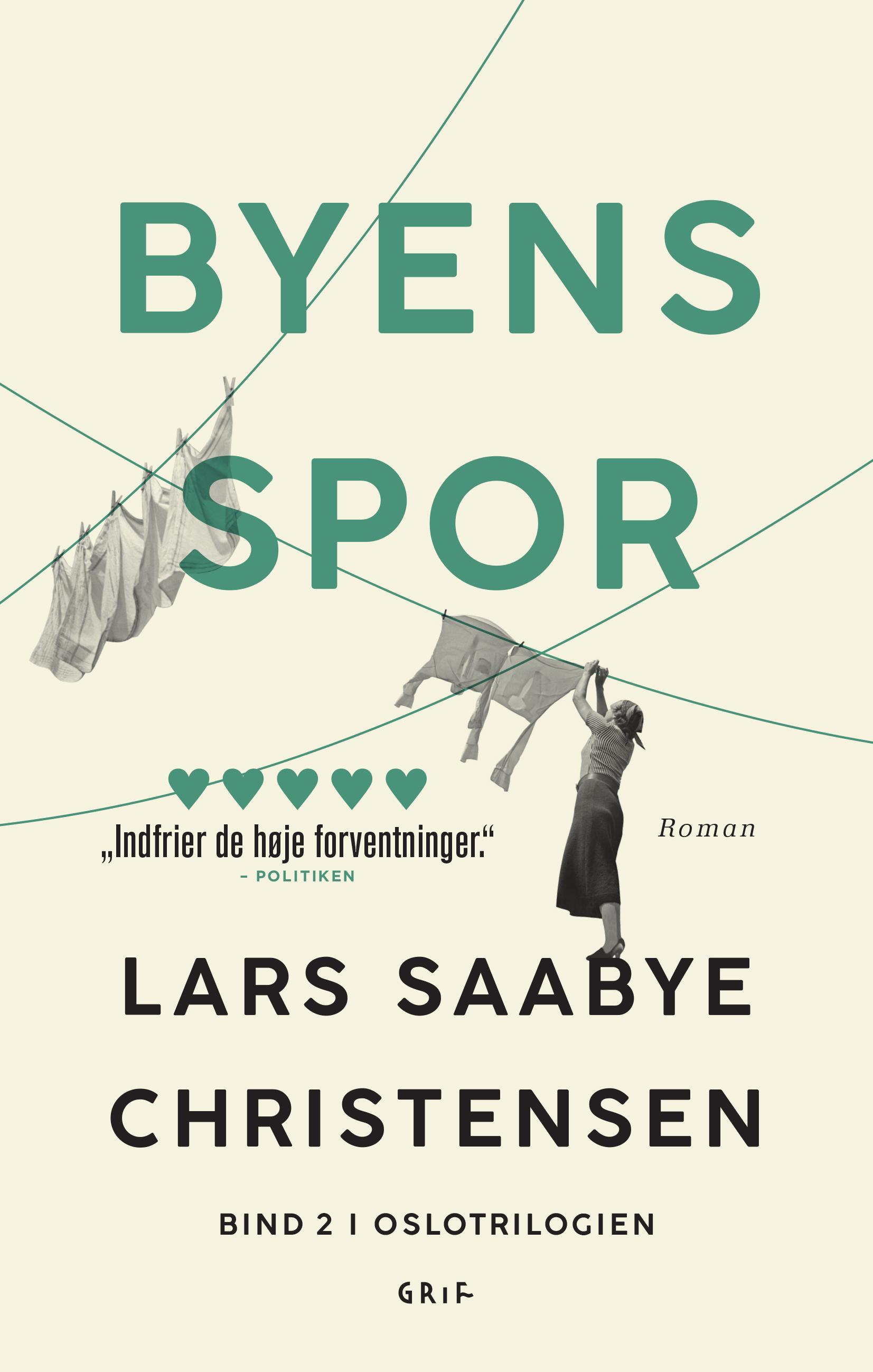 Byens spor: Byens spor 2 PB - Lars Saabye Christensen - Bøger - Grif - 9788793661974 - 24/1-2020