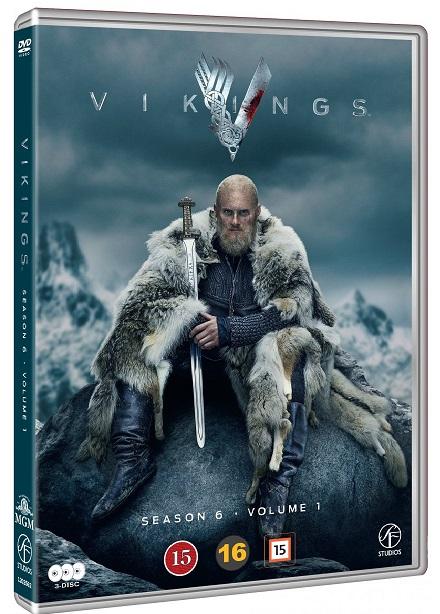 Vikings - Sæson 6 (Vol. 1) - Vikings - Film -  - 7333018017993 - 23/11-2020